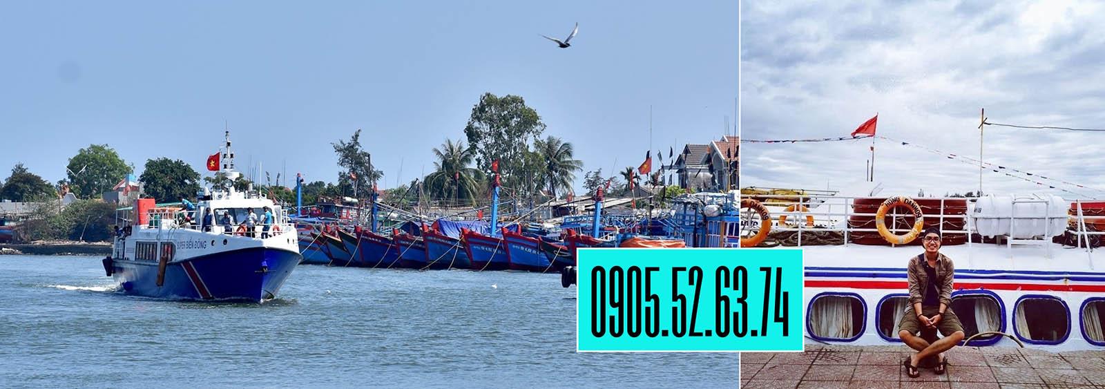 Banner vé tàu đảo Lý Sơn