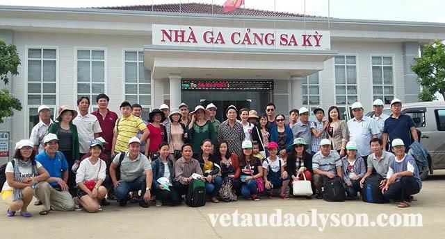 VETAU76 nhận mua hộ vé tàu đi Lý Sơn cho khách lẻ và khách đoàn