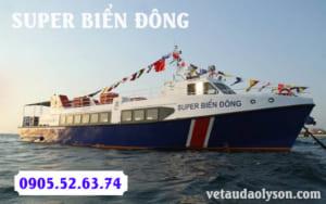 Super Biển Đông con tàu của sự khát vọng