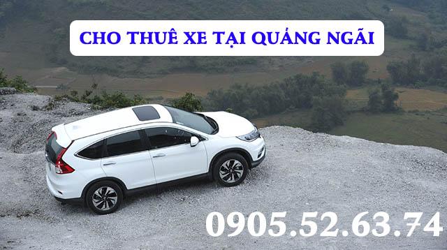 Thuê xe tại Quảng Ngãi