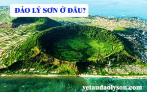 Đảo Lý Sơn ở đâu