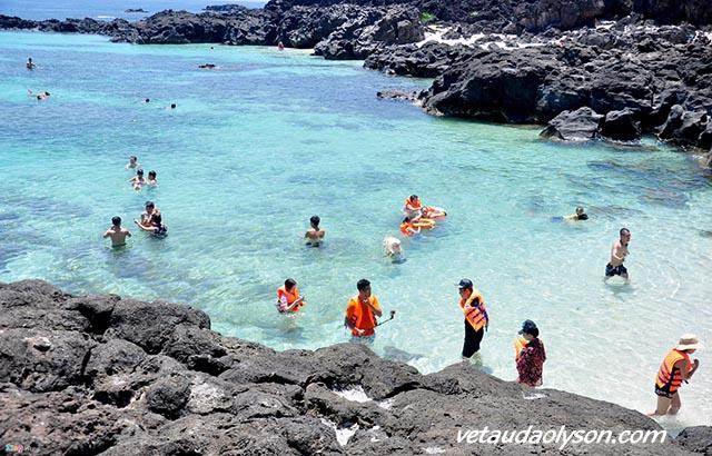 Đảo Bé - Cảnh đẹp ở Lý Sơn