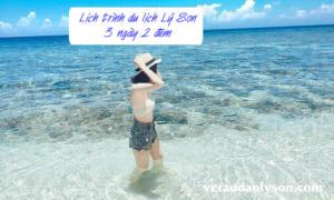 Lịch trình du lịch Lý Sơn 3 ngày 2 đêm