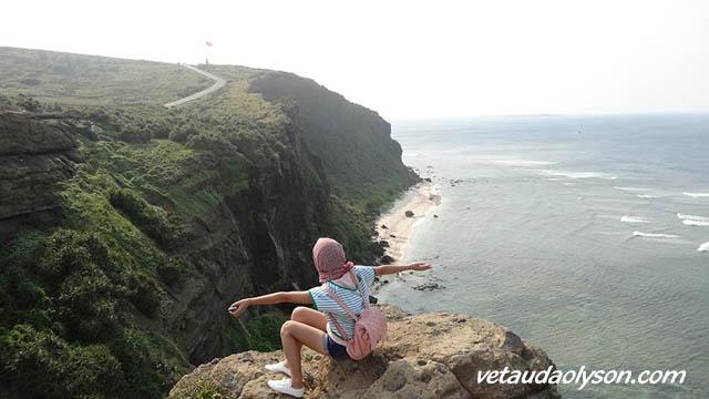 Núi Thới Lới - Cảnh đẹp ở Lý Sơn