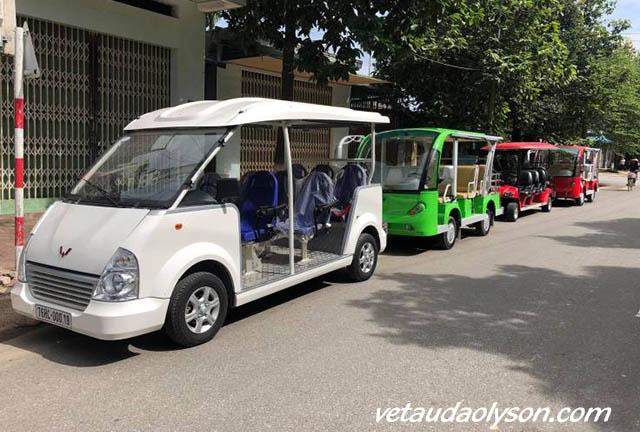 Thuê xe điện tại Lý Sơn