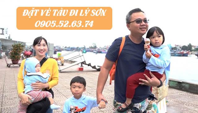 Đặt vé tàu đi Lý Sơn Online