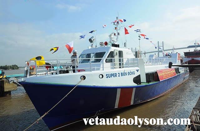 Tàu siêu tốc Super 2 Biển Đông