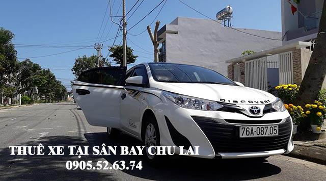 Thuê xe 4 chỗ tại sân bay Chu Lai