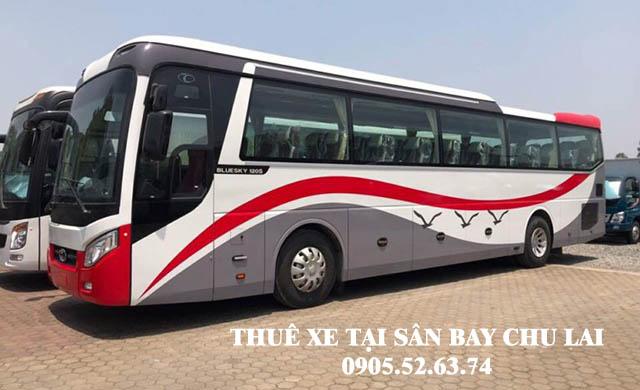 Thuê xe 45 chỗ tại sân bay Chu Lai