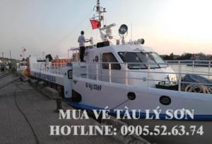 Vé tàu Lý Sơn 2019