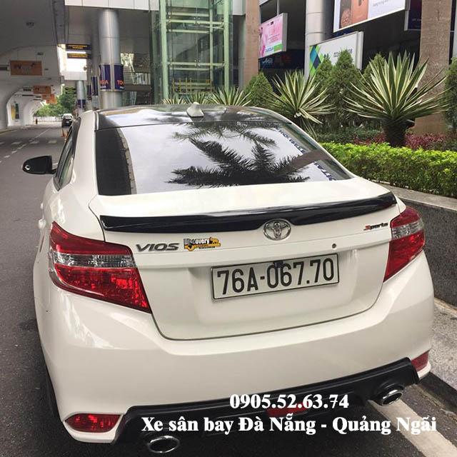Xe sân bay Đà Nẵng đi Quảng Ngãi đời mới sạch sẽ