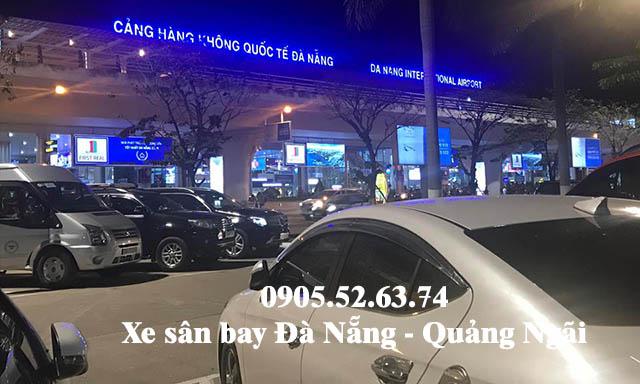 Xe sân bay Đà Nẵng đi Quảng Ngãi