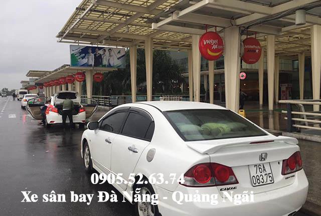 Xe sân bay Đà Nẵng đi Quảng Ngãi giá rẻ