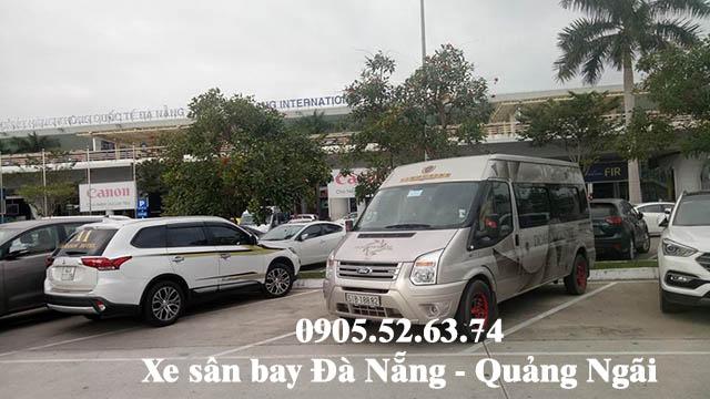 Xe sân bay Đà Nẵng đi Sa Kỳ