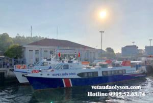 Đi tàu ra Đảo Lý Sơn mất bao lâu?