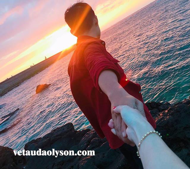 Hoàng hôn ở Lý Sơn