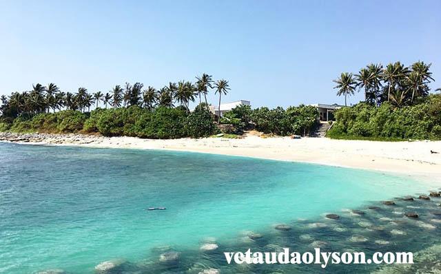Khung cảnh Đảo Bé