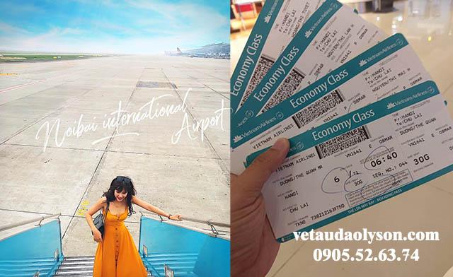 Máy bay Nội Bài đi Chu Lai
