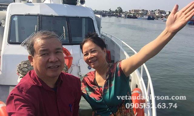 Check-in tàu Super Biển Đông