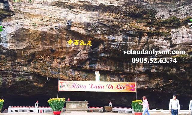 Chùa Hang Lý Sơn cảnh đẹp nổi tiếng