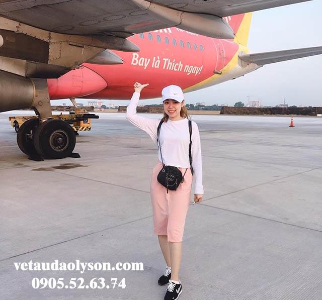 Chuyến bay sân bay Nội Bài đi Chu Lai hạ cánh lúc 8h30