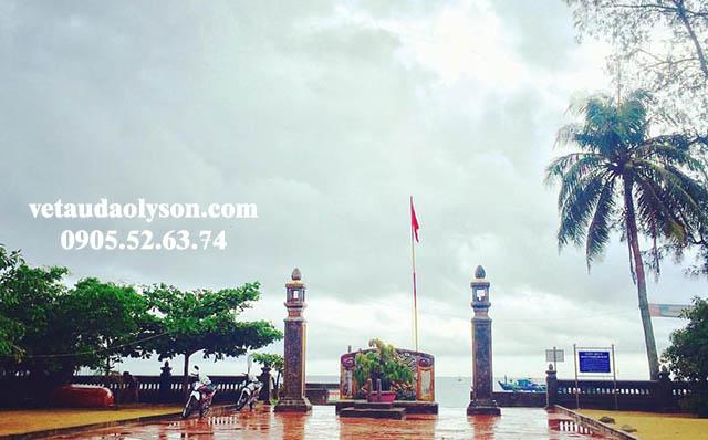 Đình Làng An Hải bình phong chắn gió cho Đảo Lý Sơn