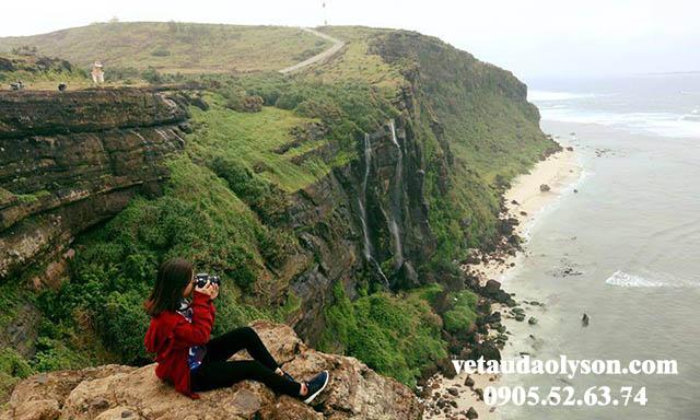 Núi Thới Lới cảnh đẹp Lý Sơn