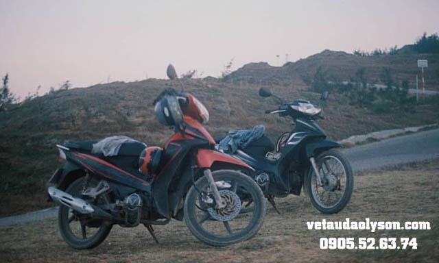 Thuê xe máy tại Lý Sơn lên Núi Thới Lới