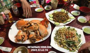 Các quán ăn ngon tại Lý Sơn