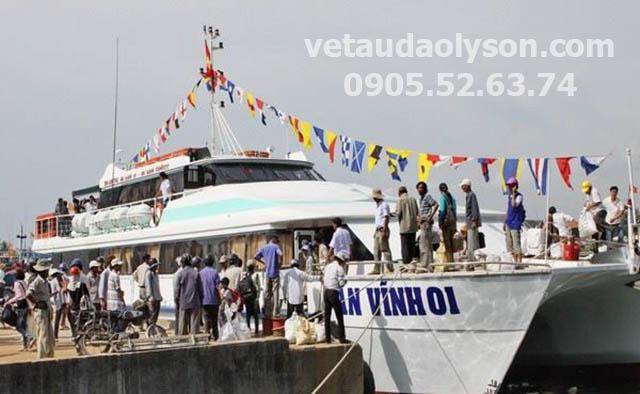 Tàu An Vĩnh 01 đi Lý Sơn