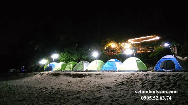 Cắm trại ở Đảo Bé Lý Sơn