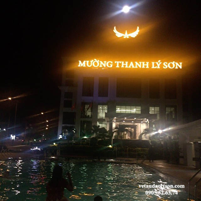 Mường Thanh Lý Sơn về đêm