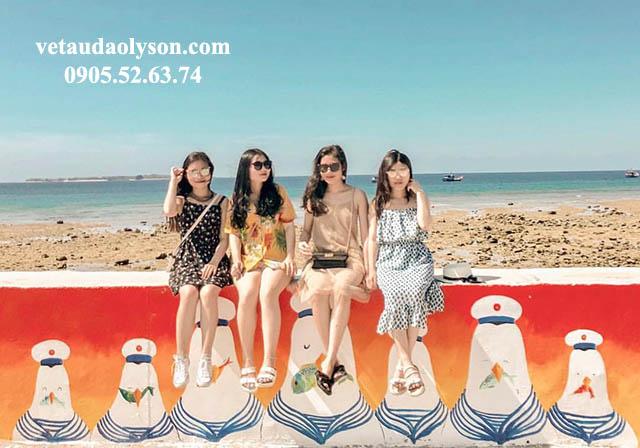 Nhóm 4 đứa đi Lý Sơn từ Hà Nội