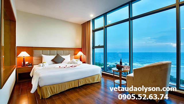 Phòng Deluxe King khách sạn Mường Thanh