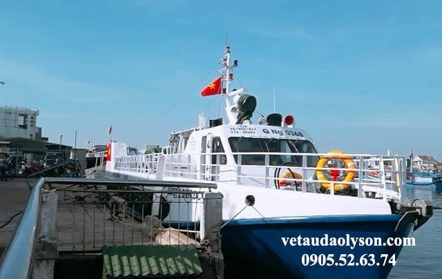 Nơi đưa những con tàu ra Đảo Lý Sơn