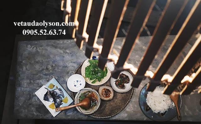 Bếp house homestay tại Lý Sơn