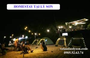 Hoemstay tại Lý Sơn