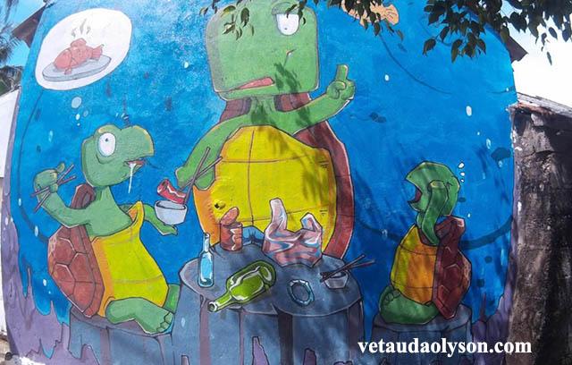 Rùa ăn cá gỗ