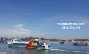Các trường hợp miễn giảm vé tàu Lý Sơn