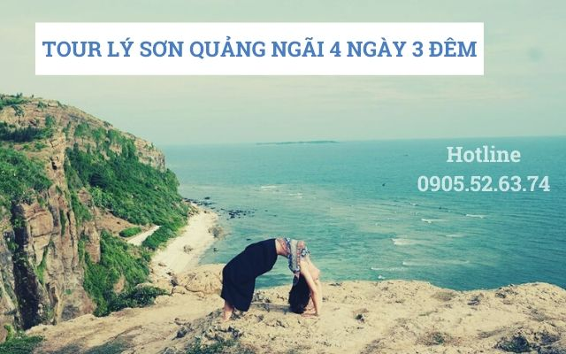 Tour Lý Sơn Quảng Ngãi 4 ngày 3 đêm