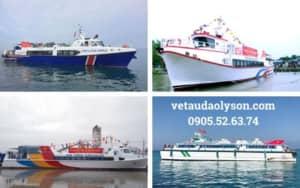 Tổng hợp các tàu siêu tốc đi Lý Sơn 2020