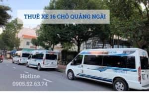 Thuê xe 16 chỗ tại Quảng Ngãi