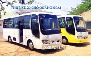 Thuê xe 29 chỗ tại Quảng Ngãi