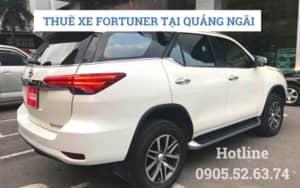 Thuê xe 7 chỗ Fortuner tại Quảng Ngãi