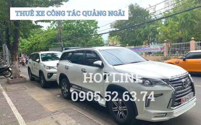 Thuê xe công tác tại Quảng Ngãi